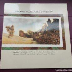 Discos de vinilo: WINDHAM HILL RECORDS SAMPLER 89-PHILIPPE SAISSE + PAUL MCCANDLESS + WILL ACKERMAN + FRED SIMON. Lote 98170827