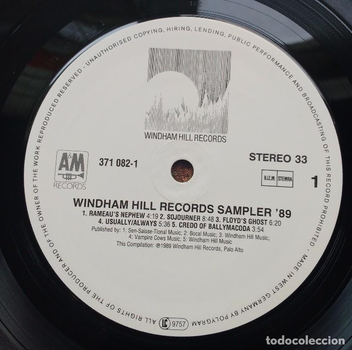 Discos de vinilo: WINDHAM HILL RECORDS SAMPLER 89-PHILIPPE SAISSE + PAUL MCCANDLESS + WILL ACKERMAN + FRED SIMON - Foto 3 - 98170827