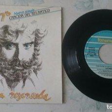 Discos de vinilo: RODRIGO: CANCIÓN DEL ATLÁNTICO / CUARTO MENGUANTE (FONOMUSIC 1988). Lote 98177011