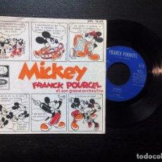 Discos de vinilo: MICKEY. FRANK POURCEL ET SON GRAN ORCHESTRE. EMI, 1968.. Lote 98177427