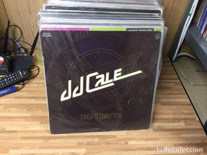LP - J.J.CALE - REALMENTE (REALLY) - SHELTER RECORDING COMPANY INC. LP-0106 - 1976 (Música - Discos - LP Vinilo - Pop - Rock - Extranjero de los 70)