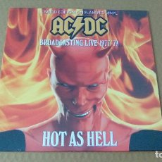 Discos de vinilo: AC/DC - HOT AS HELL (LP 2016, CODA PUBLISHING CPLVNY123, LIMITED EDITION) NUEVO. Lote 98204475
