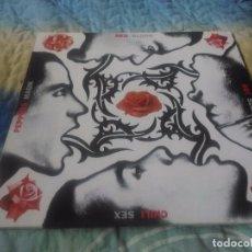 Discos de vinilo: RED HOT CHILI PEPPERS - BLOOD SUGAR SEX MAGIK. LP AÑO 1991. INCLUYE ENCARTE.. Lote 98204607