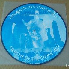 Discos de vinilo: QUEENS OF THE STONE AGE - DRUNKEN IN STONEHENGE (LP PICTURE ) NUEVO. Lote 98204847