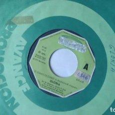 Discos de vinilo: SINGLE (VINILO)-PROMOCION- DE GLORIA AÑOS 70. Lote 98204975