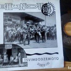 Discos de vinilo: SINGLE (VINILO) DE BHUNDU BOYS AÑOS . Lote 98205451