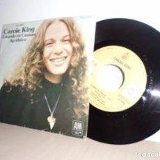 Discos de vinilo: CAROLE KING -ESTANDO EN CANAAN-AGRIDULCE AM RECORDS-HISPAVOX-. Lote 98205703