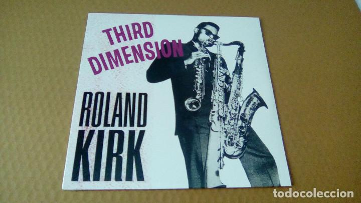 ROLAND KIRK - THIRD DIMENSION (LP 2014, ED. LIMIT. 56/500, DOXY ACV2039) NUEVO (Música - Discos - LP Vinilo - Jazz, Jazz-Rock, Blues y R&B)