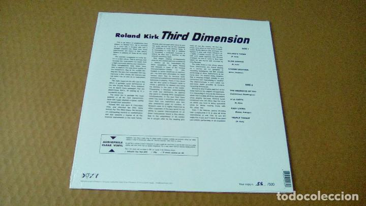 Discos de vinilo: ROLAND KIRK - Third Dimension (LP 2014, Ed. Limit. 56/500, Doxy ACV2039) NUEVO - Foto 2 - 98205727