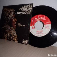 Discos de vinilo: ARETHA FRANKLIN-ROCK STEADY-OH ME OH MY-HISPAVOX MADRID AÑO 1971. Lote 98206363