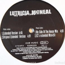 Discos de vinilo: LUTRICIA MCNEAL - MY SIDE OF TOWN - 1997. Lote 98213967