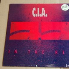 Discos de vinilo: C.I.A. - IN THE RED - VINILO 1990 -FLAG 40 NUCLEAR ASSAULT. Lote 98217603