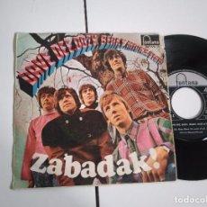 Discos de vinilo: SINGLE-DAVE DEE DOZY BERRY MICKS & TICH-ZABADAK-1967-SPAIN-. Lote 98217691