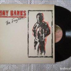 Discos de vinilo: TONY BANKS, THE FUGITIVE (CHARISMA) LP ESPAÑA - GENESIS. Lote 98218123