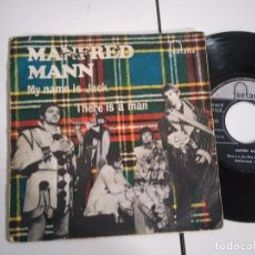 Discos de vinilo: SINGLE-MANFRED MANN-MY NAME IS JACK-1968-SPAIN-. Lote 98218351