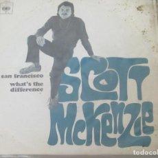 Discos de vinilo: SCOTT MCKENZIE - SAN FRANCISCO, WHAT'S THE DIFFERENCE (1967). Lote 98219435