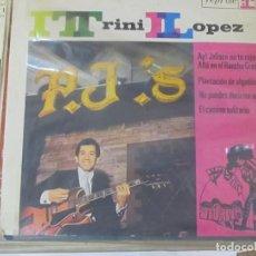 Discos de vinilo: TRINI LÓPEZ - AY JALISCO NO TE RAJES (5 TEMAS) - EP 1964. Lote 98220659