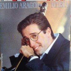 Discos de vinilo: EMILIO ARAGON - MARIA / SIN GRABAR - NUEVO PROMO ESPAÑOL. Lote 98220663