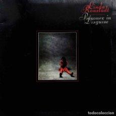 Discos de vinilo: LINDA RONSTADT. PRISIONER IN DISGUISE. LP ESPAÑA PORTADA ABIERTA.. Lote 98221743