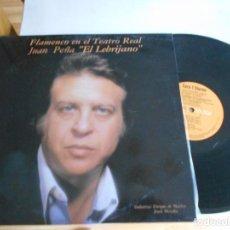 Discos de vinilo: LP DE EL LEBRIJANO-FLAMENCO EN EL TEATRO REAL. Lote 98222835