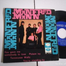 Discos de vinilo: EP-MANFRED MANN-YOU GAVE ME-1966-SPAIN-. Lote 98222859