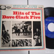 Discos de vinilo: EP-DAVE CLARK FIVE-EVERYBODY KNOWS-1963-SPAIN-. Lote 98223395