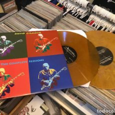 Discos de vinilo: DAVID GILMOUR DE PINK FLOYD THE COMPLETE SESSIONS 2LP VINILO COLOR DAN003 ED LIMITADA. Lote 98223439