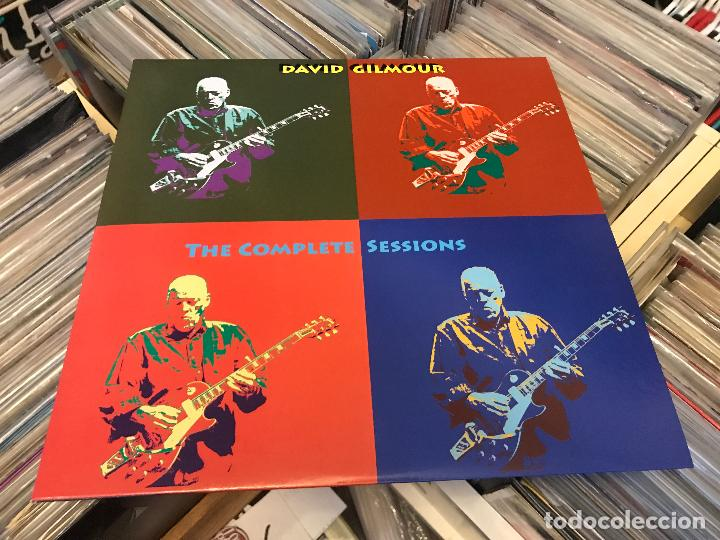 Discos de vinilo: David gilmour de pink floyd The complete sessions 2lp vinilo color DAN003 Ed limitada - Foto 3 - 98223439