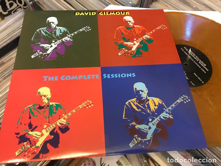 Discos de vinilo: David gilmour de pink floyd The complete sessions 2lp vinilo color DAN003 Ed limitada - Foto 4 - 98223439