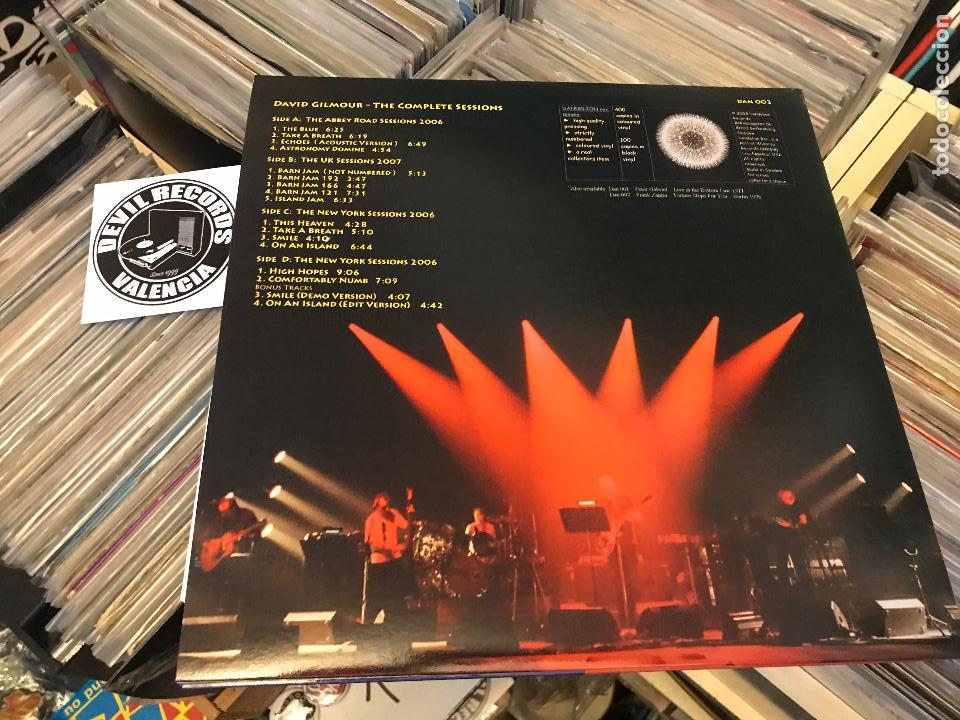 Discos de vinilo: David gilmour de pink floyd The complete sessions 2lp vinilo color DAN003 Ed limitada - Foto 8 - 98223439