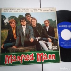 Discos de vinilo: EP-MANFRED MANN-I CANT BLIEVE WHAT YOU SAY-1966-SPAIN-. Lote 98224603