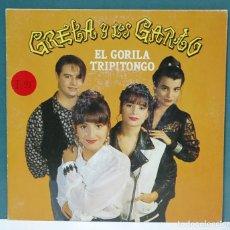 Discos de vinilo: GRETA Y LOS GARBO. EL GORILA TRIPITONGO / OH DIME. FONOMUSIC 1992. SINGLE. Lote 98227287
