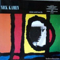 Discos de vinilo: NICK KAMEN - MOVE UNTIL WE FLY - EDICIÓN DE 1990 DE GERMANY. Lote 98229543