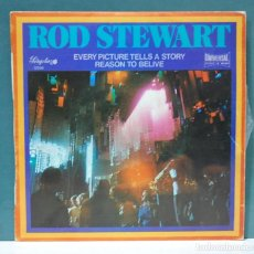 Discos de vinilo: ROD STEWART. EVERY PICTURE TELLS A STORY / REASON TO BELIVE. PERGOLA 1972. SINGLE. Lote 98231295