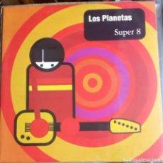 Discos de vinilo: LOS PLANETAS - SUPER 8 - REEDICIÓN LIMITADA VINILO NUM: 1129/1500 - RCA - SONY 2014. Lote 98231631