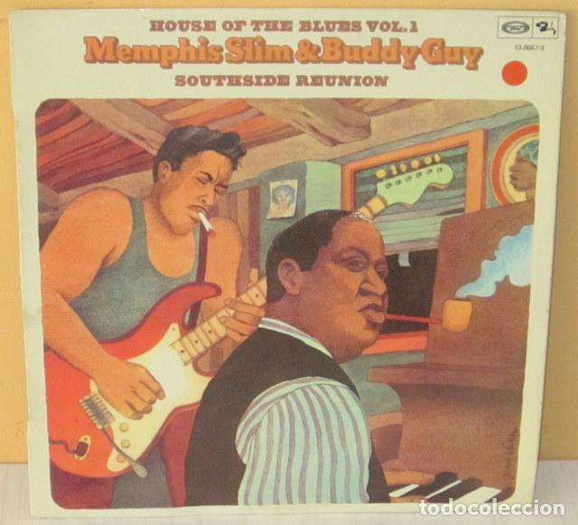 MEMPHIS SLIM & BUDDY GUY - HOUSE OF THE BLUES VOL. 1 BARCLAY - 1975 (Música - Discos - LP Vinilo - Jazz, Jazz-Rock, Blues y R&B)