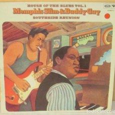Discos de vinilo: MEMPHIS SLIM & BUDDY GUY - HOUSE OF THE BLUES VOL. 1 BARCLAY - 1975. Lote 98232279