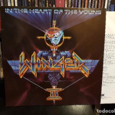 Discos de vinilo: WINGER - IN THE HEART OF THE YOUNG . Lote 98232435