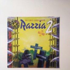 Discos de vinilo: RAZZIA 2 BAILA O MUERE 1994. Lote 98232587