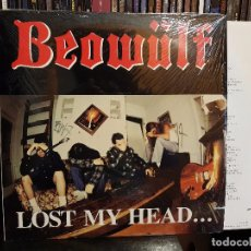 Discos de vinilo: BEOWÜLF - LOST MY HEAD... BUT I'M BACK ON THE RIGHT TRACK. Lote 98233523