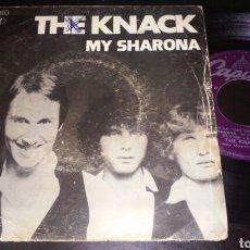 Discos de vinilo: THE KNACK SINGLE 7' MY SHARONA. Lote 98234482