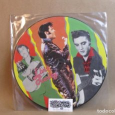 Discos de vinilo: ELVIS PRESLEY-IT`S NOW OR NEVER-LP COMPILATION-PICTURE DISC-EUROPE- VG. Lote 98234883