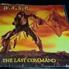 Discos de vinilo: MUSICA LP HEAVY WASP THE LAST COMMAND EMI 1985 ESPAÑA . Lote 98235667