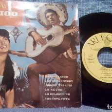 Discos de vinilo: HOLIDAY IN MEXICO - ORQUESTA TIPICA MEXICANA - ARLEQUIN 1968 EP DE 6 CANCIONES - ED. ESPAÑOLA - EX. Lote 98236187