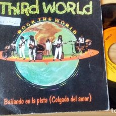 Discos de vinilo: SINGLE (VINILO) DE THIRD WORLD AÑOS 80. Lote 98236711