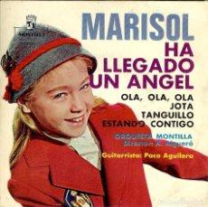 Discos de vinilo: MARISOL HA LLEGADO UN ANGEL DISCO DE 4 CANCIONES EDITADO EN MEXICO ( DISCO MUY DIFICIL ). Lote 98238591