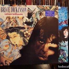 Discos de vinilo: BRUCE DICKINSON - TATTOOED MILLIONAIRE. Lote 98239619