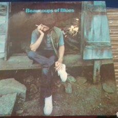 Discos de vinilo: RINGO STARR - THE BEATLES - BEAUCOUPS OF BLUES - LP 1ª EDICION ESPAÑOLA CON PORTADA ABIERTA - ODEON. Lote 98240175