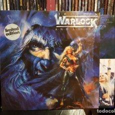 Discos de vinilo: WARLOCK - TRIUMPH AND AGONY. Lote 98240287