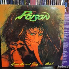 Discos de vinilo: POISON - OPEN UP AND SAY... AHH!. Lote 98240507